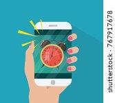 vector illustration of phone...