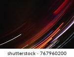 abstract blurred light... | Shutterstock . vector #767960200