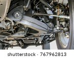 pickup car independent... | Shutterstock . vector #767962813
