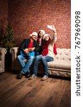 family  holidays  generation ... | Shutterstock . vector #767969098