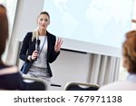 picture showing business people ... | Shutterstock . vector #767971138