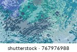 wide format abstract grunge... | Shutterstock .eps vector #767976988