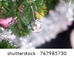 elective focus of christmas... | Shutterstock . vector #767985730