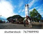 bukittinggi  indonesia  april ... | Shutterstock . vector #767989990