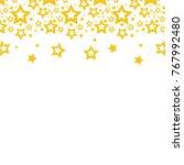color stars christmas...   Shutterstock .eps vector #767992480