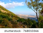 view of the sea of galilee ... | Shutterstock . vector #768010366