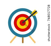 shot at target | Shutterstock .eps vector #768017728