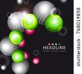 brochure header colorful layout ...   Shutterstock .eps vector #768019858