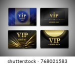 vip cards design template on... | Shutterstock .eps vector #768021583