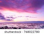 bright illumination bright... | Shutterstock . vector #768022780