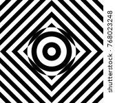 seamless tile with black white...   Shutterstock .eps vector #768023248