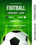 football league tournament... | Shutterstock .eps vector #768041803