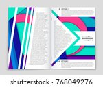 abstract vector layout... | Shutterstock .eps vector #768049276