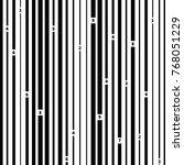 black and white barcode on... | Shutterstock . vector #768051229