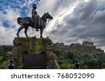 Royal Scots Greys Monument With ...