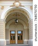 the doors of opera house in
