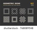 set of eight minimalistic...   Shutterstock .eps vector #768089548
