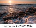island r gen  germany ... | Shutterstock . vector #768097744