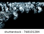 jewelry with diamond  | Shutterstock . vector #768101284