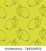 seamless vector pattern. two...   Shutterstock .eps vector #768104053