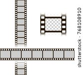 film strip set. collection of... | Shutterstock .eps vector #768108910