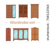 furniture cartoon vector... | Shutterstock .eps vector #768122563