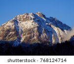 japan alps mt.yakedake | Shutterstock . vector #768124714