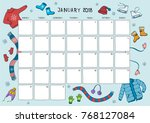 Cute Calendar And Planner For...