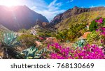 masca village  the most visited ... | Shutterstock . vector #768130669