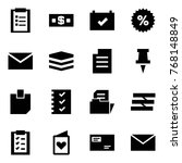 origami style icon set  ...   Shutterstock .eps vector #768148849