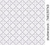 seamless geometric line pattern ... | Shutterstock .eps vector #768150763