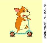 vector illustration  isolated... | Shutterstock .eps vector #768156370