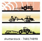 set of different types of... | Shutterstock .eps vector #768174898