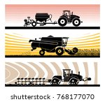 set of different types of... | Shutterstock .eps vector #768177070