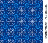 winter seamless pattern with... | Shutterstock .eps vector #768188836