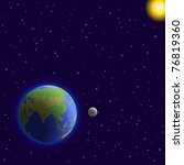 Vector  Space   Planets Mother...