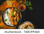 Indian Butter Chicken With...