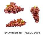 Ripe Red Grape Pink Bunch - Fine Art prints