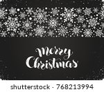 happy holidays greeting card... | Shutterstock .eps vector #768213994