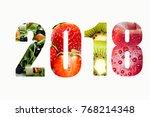 purpose of healthy diet and... | Shutterstock . vector #768214348