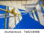 impressions from a sailing ship ... | Shutterstock . vector #768218488