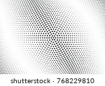 abstract halftone wave dotted... | Shutterstock .eps vector #768229810