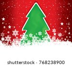 abstract christmas background...   Shutterstock .eps vector #768238900