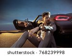 young handsome man posing in a... | Shutterstock . vector #768239998