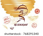 template concept image for... | Shutterstock .eps vector #768291340