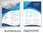 template vector design for... | Shutterstock .eps vector #768292990