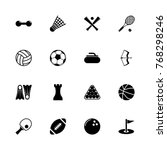 sport icons   expand to any... | Shutterstock .eps vector #768298246