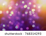 background of defocused bokeh... | Shutterstock . vector #768314293
