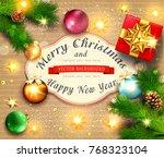 vector illustration for merry...   Shutterstock .eps vector #768323104