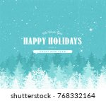 holiday background with... | Shutterstock .eps vector #768332164
